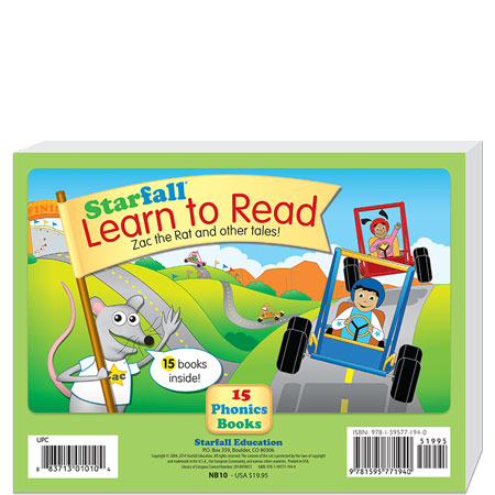 15 Learn to Read Books