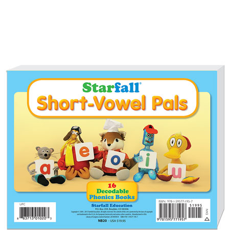 Set of 16 Short-Vowel Books
