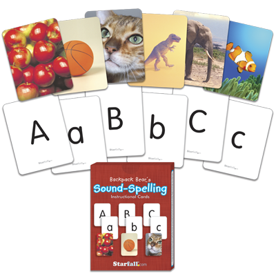Detailed view of Sound-Spelling Instructional Cards