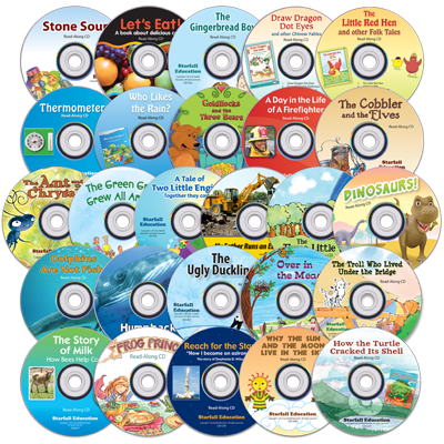 Detailed view of Read-Along CD Set