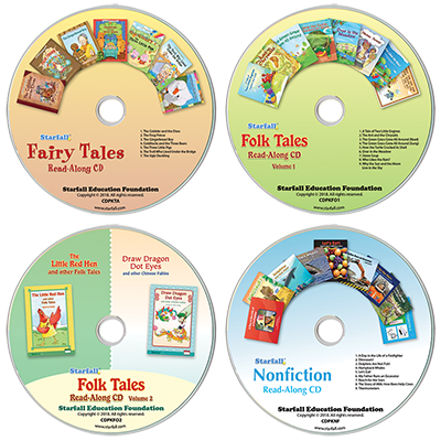 Detailed view of Set of 4 Read-Along CDs