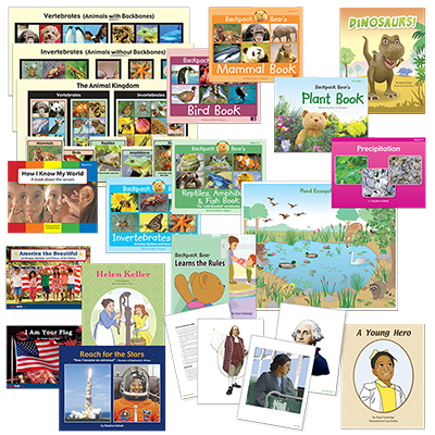 Detailed view of Science and Social Studies Kit