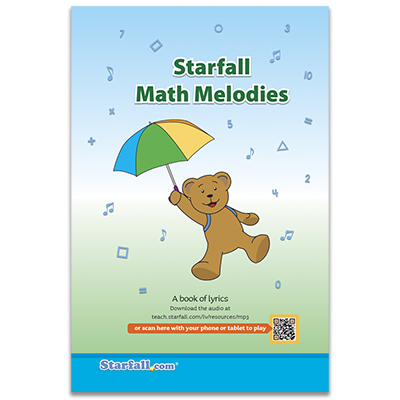 Detailed view of Starfall Math Melodies (CD Included)