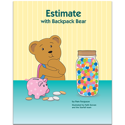 Detailed view of Estimate With Backpack Bear