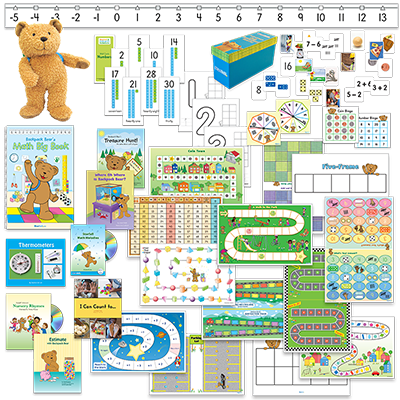 Detailed view of Kindergarten Mathematics Classroom Kit