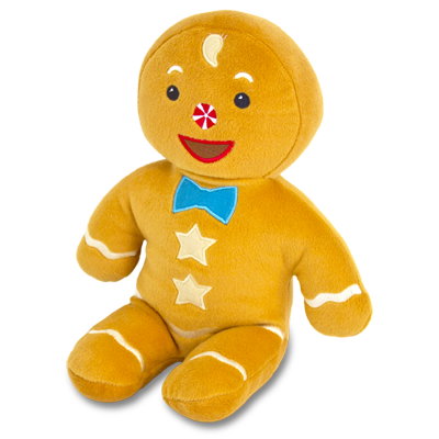 Detailed view of Gingerbread Boy