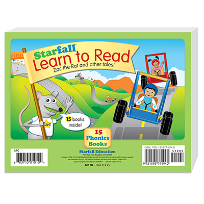 Detailed view of Set of 15 Learn to Read Books