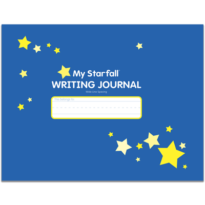Detailed view of My Starfall Writing Journal