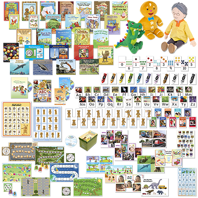 Detailed view of Pre-K Homeschool Kit, Second Edition