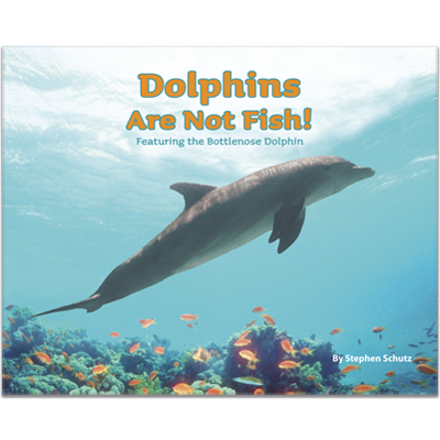 Detailed view of Dolphins Are Not Fish!