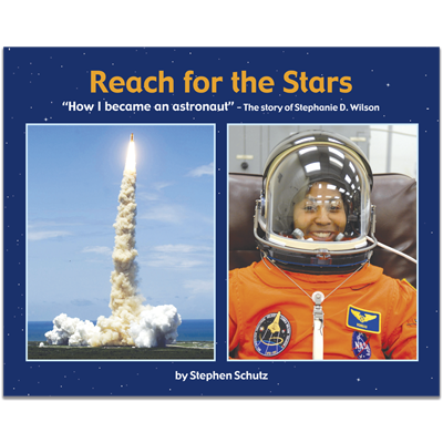 Detailed view of Reach for the Stars
