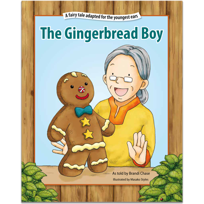 Detailed view of The Gingerbread Boy