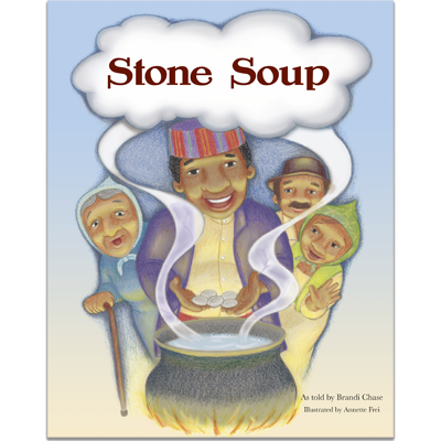 Detailed view of Stone Soup
