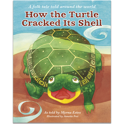Detailed view of How the Turtle Cracked Its Shell