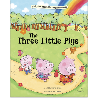 Detailed view of The Three Little Pigs