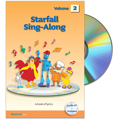Detailed view of Starfall Sing-Along Volume 2 (CD included)