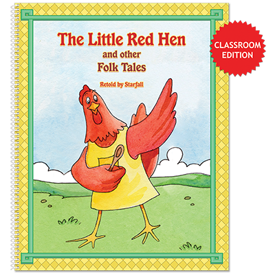Detailed view of The Little Red Hen and other Folk Tales (classroom edition)