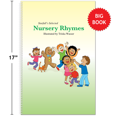 Detailed view of Starfall's Selected Nursery Rhymes Big Book