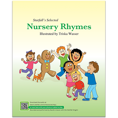 Detailed view of Starfall's Selected Nursery Rhymes with CD