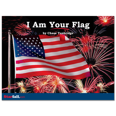 Detailed view of I Am Your Flag
