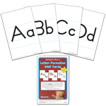 Letter-Formation Wall Cards