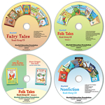 Set of 4 Read-Along CDs