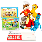Level-K Zac & Friends Decodable Phonics Kit thumbnail