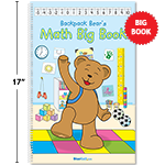 Backpack Bear's Math Big Book thumbnail