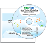 Star Writer Melodies CD