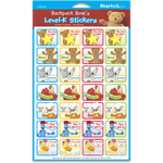 Backpack Bear's Level-K Stickers