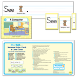 Sentence Strips, Cards & Cover Cards for Backpack Bear's Predecodable Books thumbnail