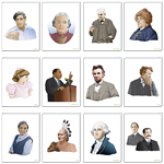 Historical Figures Poster Set thumbnail