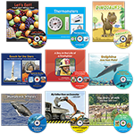 Set of 9 Nonfiction Books with Read-Along CDs