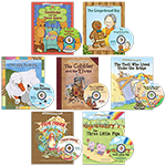 Set of 7 Fairy Tale books with Read-Along CDs