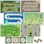 Gingerbread Boy's Math Games