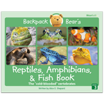 Backpack Bear's Reptiles, Amphibians, & Fish Book thumbnail